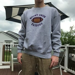 Sweaters - Mount Union Football Crewneck